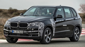 BMW X5 eDrive Prototype review