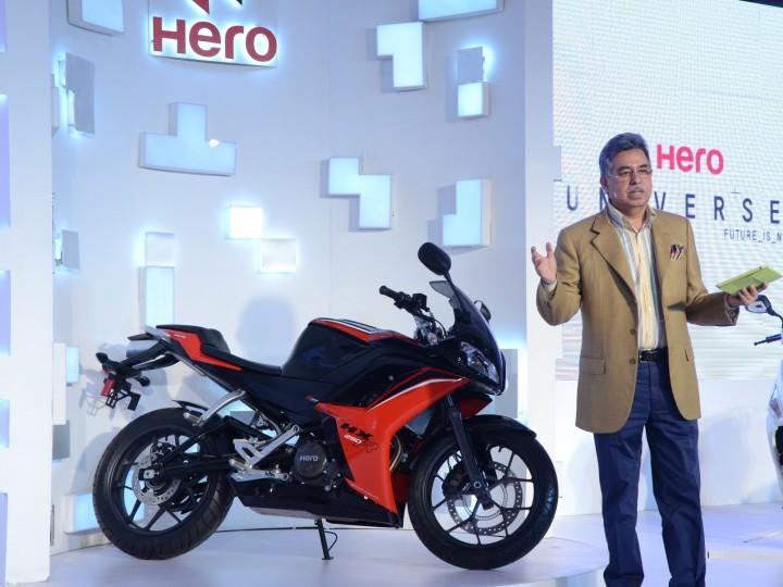 Hero's pre-Auto Expo madness, unveils 5 new bikes