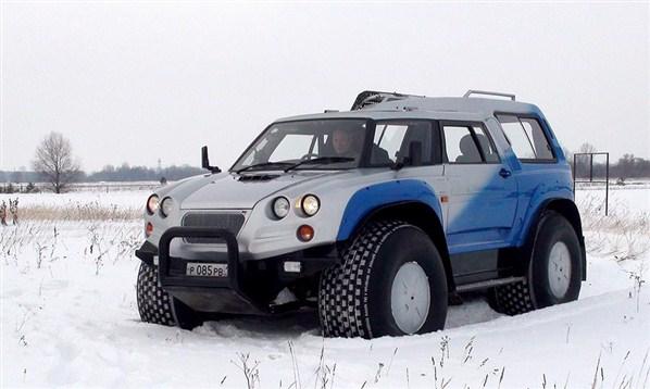 Super Snow Vehicles