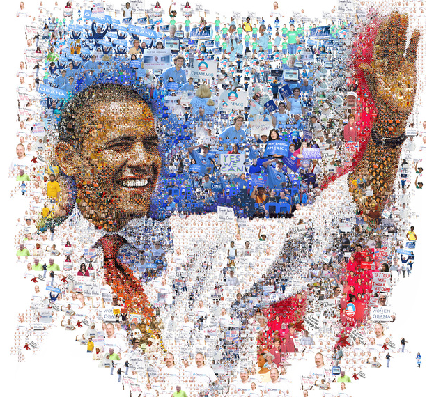 Many Of The Art Posters, Photo Posters Made By Mosaic Software Pose Marvelous