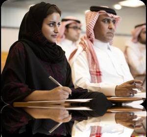 Working in Saudi Arabia,