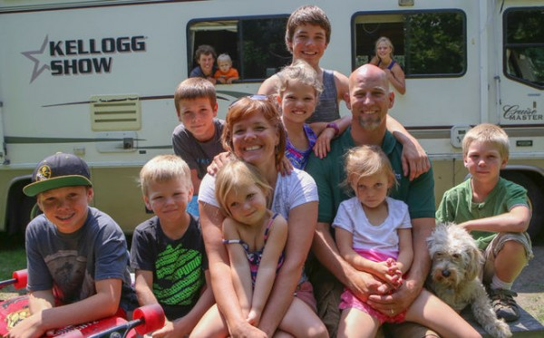 Family Presses In RV To Live Out And About