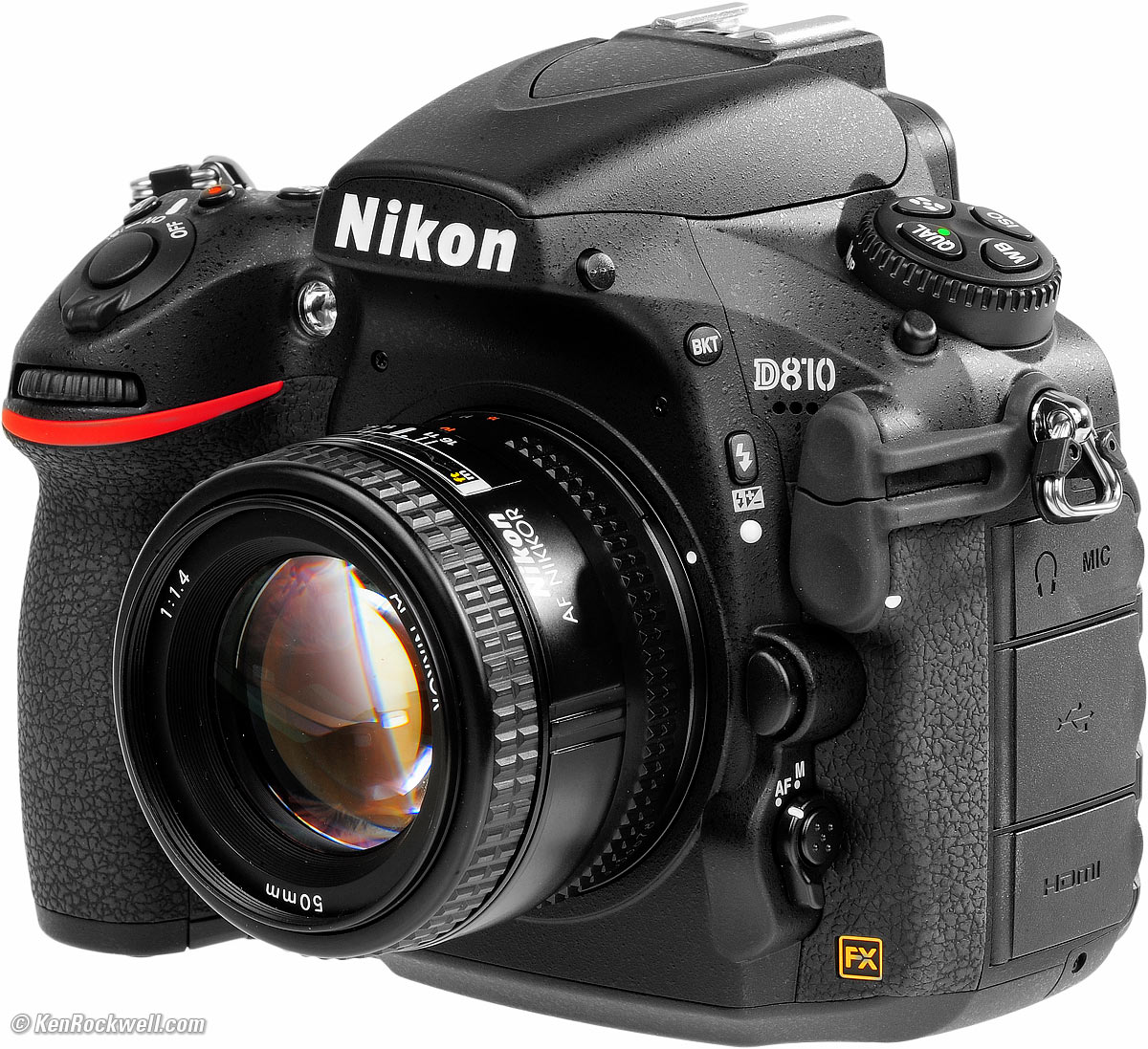 Superior Quality Nikon D810 FX-format Digital SLR Camera- Review
