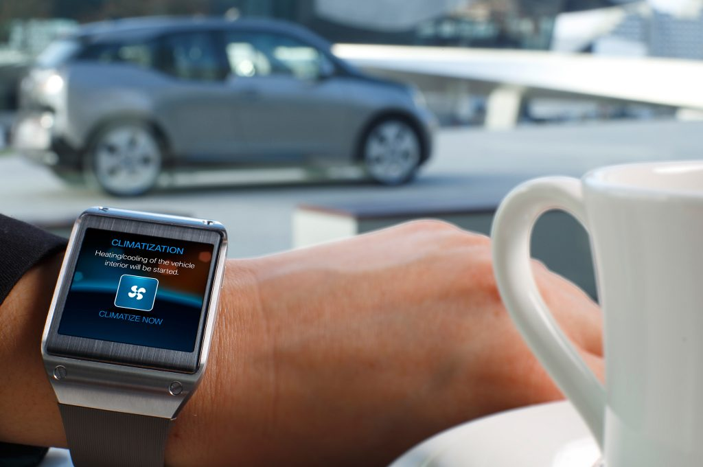 Samsung Gear S Smartwatch Now Supports Remote Control By BMW i Remote App