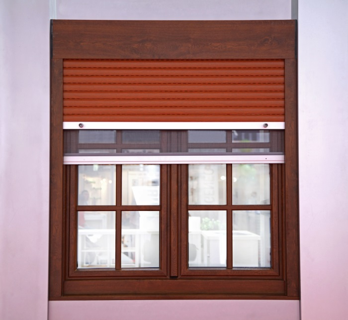 Kitchen roller shutters