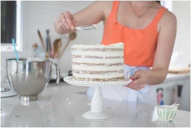 Pastel Layer Cake For Birthday