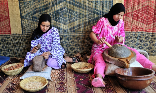 How Argan Oil Is Made In Morocco