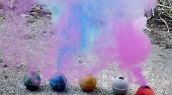 How To Make Colored Smoke Balls?