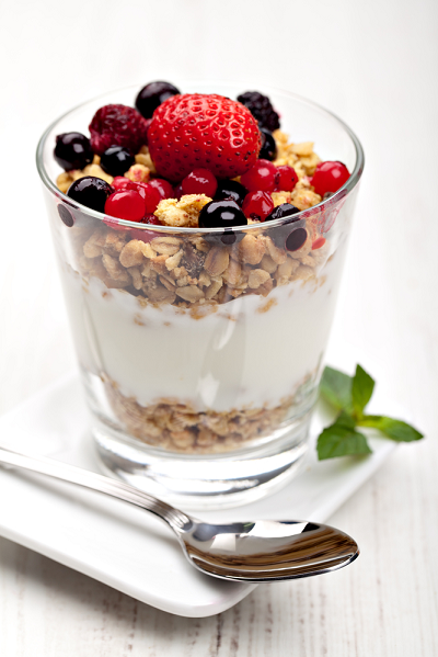 Muesli with Curd and Fruits