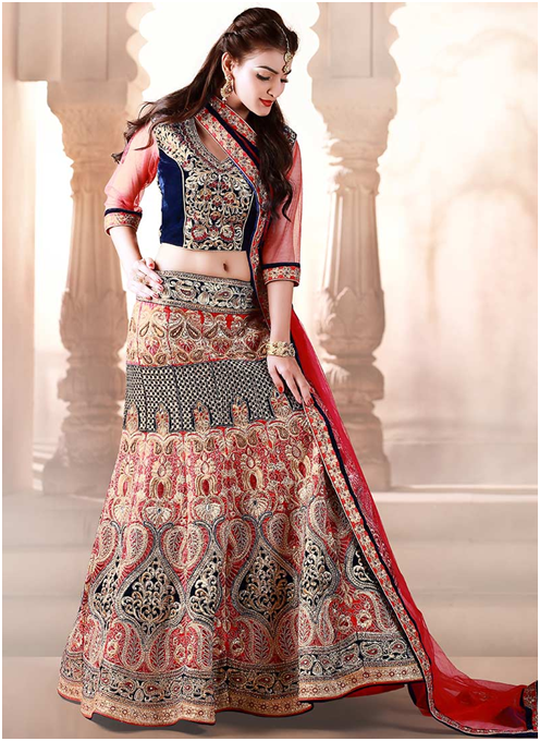 Pamper Yourself By Purchasing Best Lehenga Choli For Yourself From CBazaar!!