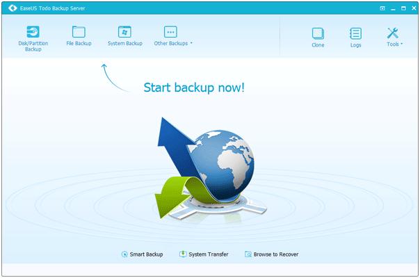 Review: EaseUS Todo Backup Server