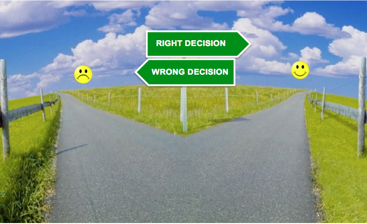 Make The Right Decisions For The Right Reasons