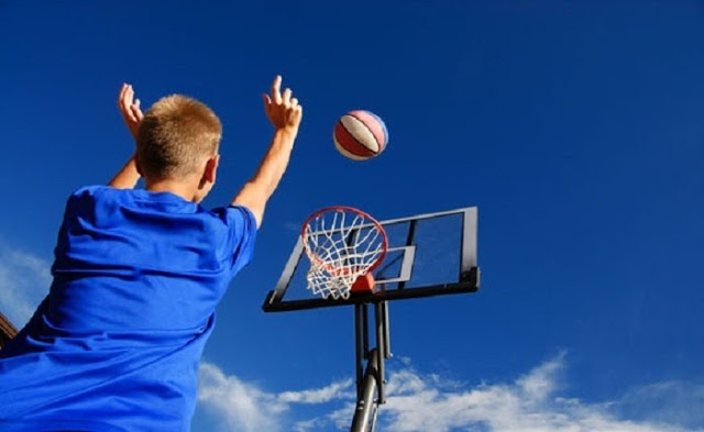 A Basketball Net Means Fun For The Whole Family