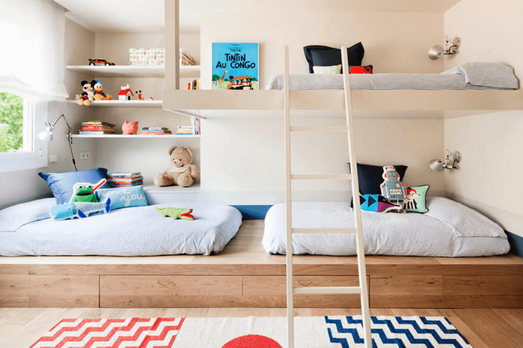 Creating Individual Space When Sharing A Bedroom