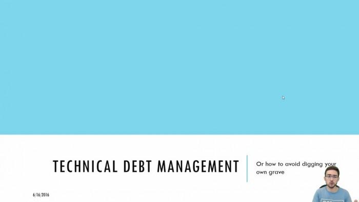 DevOps And Technical Debt