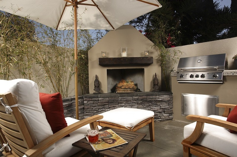 Create A Virtually Maintenance-Free Outdoor Space