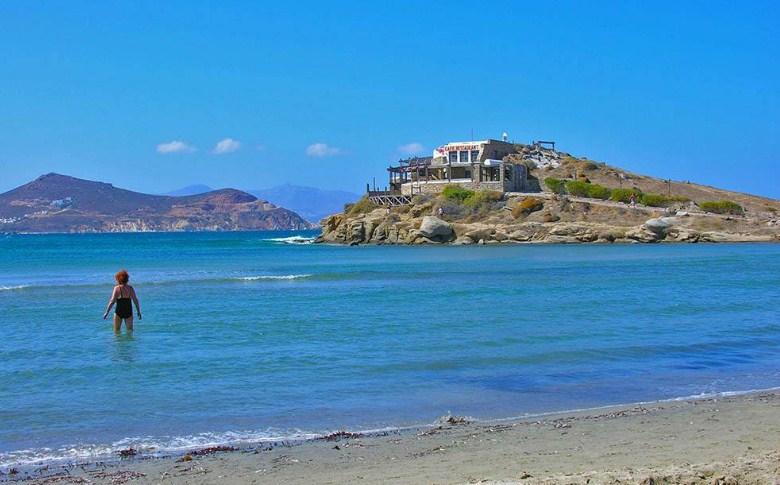 St George Beach (Naxos, Greece)
