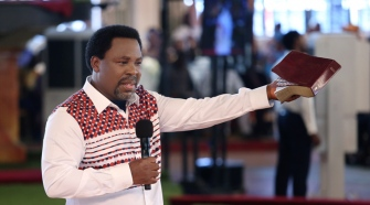 Prophet TB Joshua Healing The Community With Divine's Call
