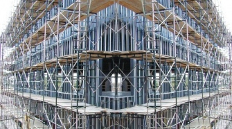 Scaffolding Prevents Mishaps At Construction Sites
