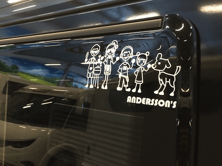 Car Window Stickers: A Great Way To Revivify The Look Of Your Car