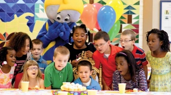 birthday party for the child