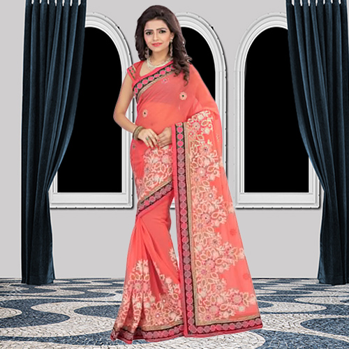 Top 5 Colours Of Chiffon Sarees For Best Party Look