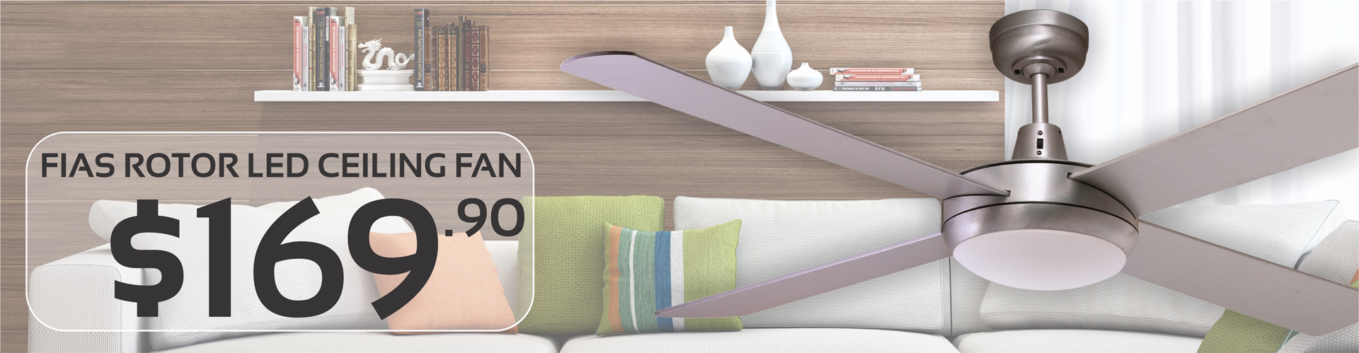 Brighten Your Homes With Gentle Breeze With Modern Ceiling Fans