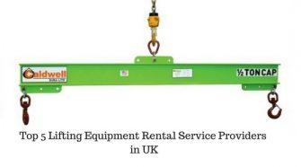 Top 5 Lifting Equipment Rental Service Providers in UK