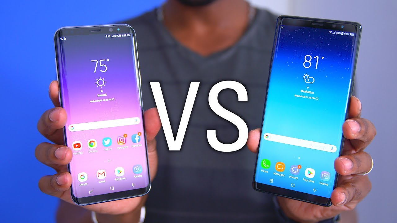 Galaxy Note 8 vs Samsung s8 : Which One To Buy?