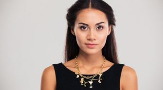 How To Combine Types Of Necklaces and Dress Perfectly