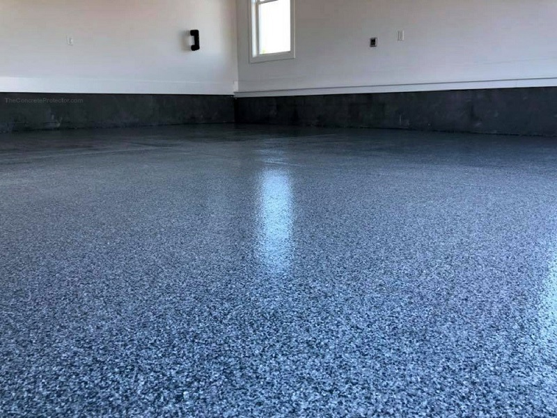 Enhances The Appearance Of Simple Concrete Surface With Decorative Concrete Coatings