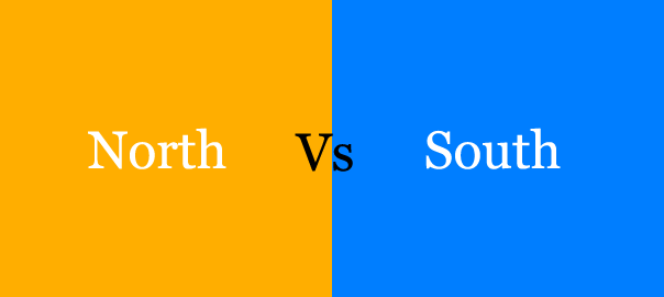 North vs South India
