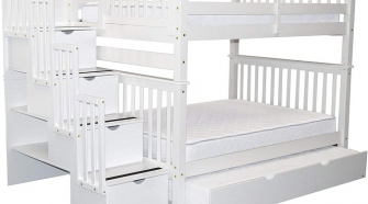 L-shaped bunk beds for adults