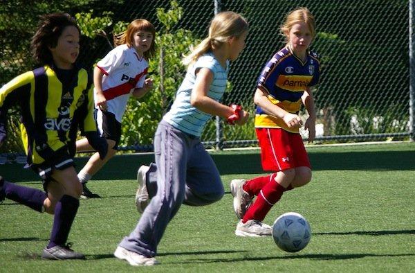Children Learn Soccer