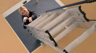 Aluminum Loft Ladder